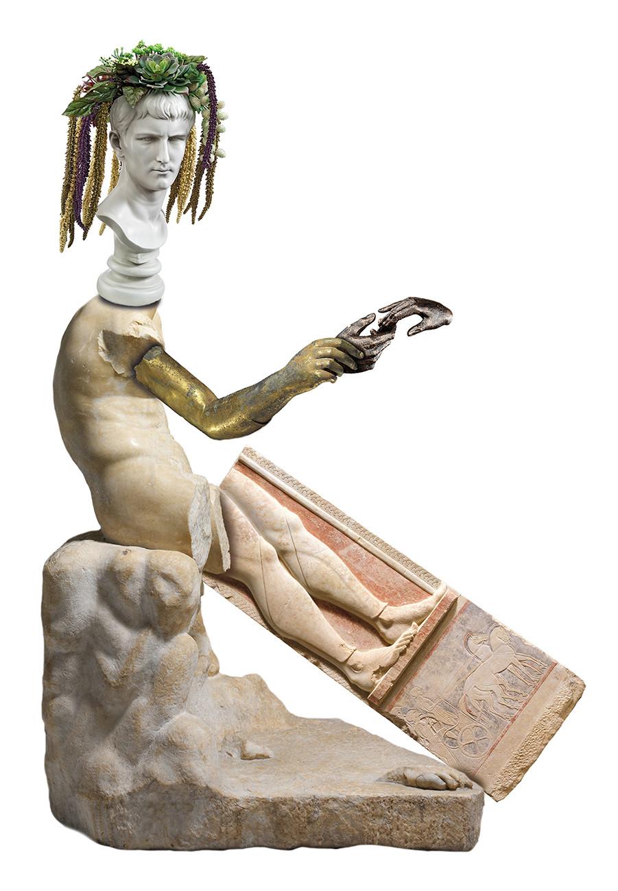 Duncan Poulton - Statue Reconstruction III (2016)