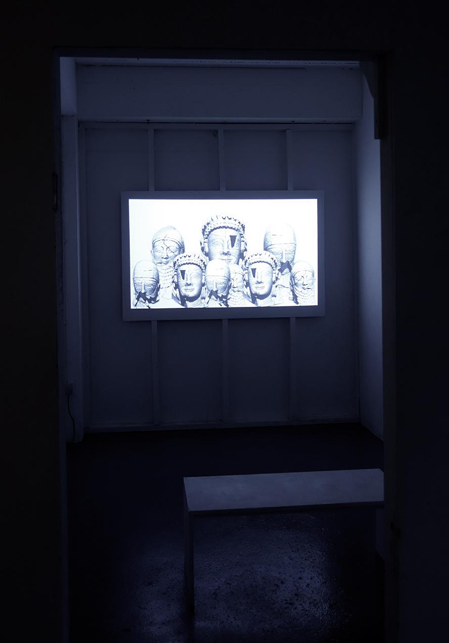 Duncan Poulton - Pygmalion (2016) Installation View no.5 (SOUP ptIII, Stryx, Birmingham, July 2016)